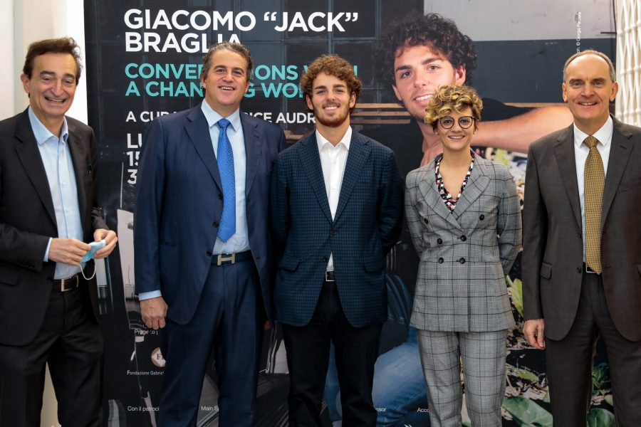 GIACOMO Jack BRAGLIA  </br> Conversations with a Changing World